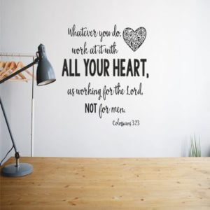 foto Wall Stickers ALL YOURE HEART