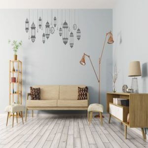 foto Wall Stickers ARABISK LANTERN