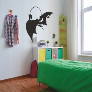 foto Wallstickers Barn BATMAN MOON