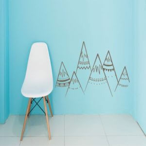 foto Wallstickers Barn BERG SET 1