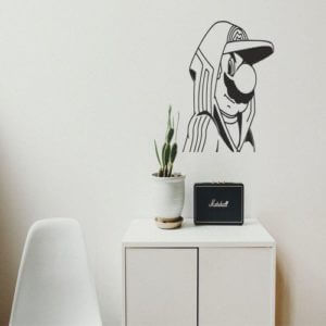 foto Wallstickers Barn GANGSTER SUPER MARIO