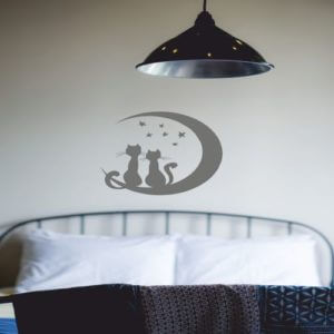 foto Wall Stickers GODNATT KATT