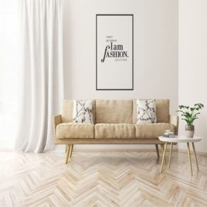 foto Wall Stickers I DONT DO FASHION COCO CHANEL