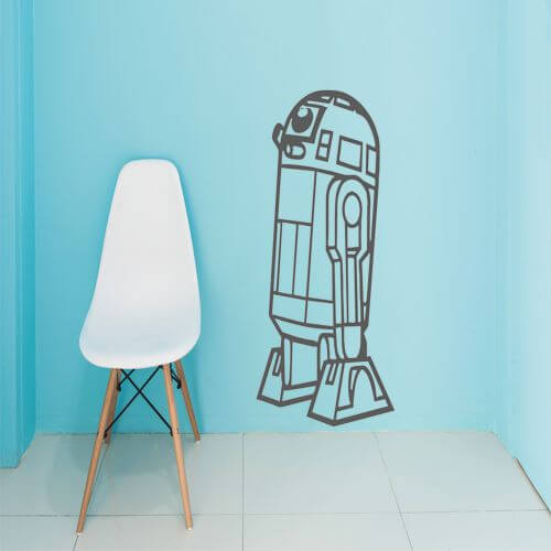 foto Wallstickers Barn R2D2