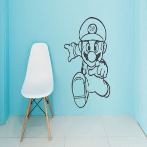 foto Wallstickers Barn SUPER MARIO
