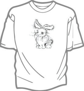 foto T-shirt Barn SWEETEST BUNNY