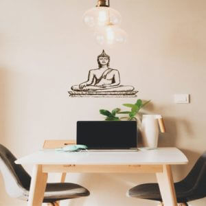 foto Yoga Stickers Buddha sitting