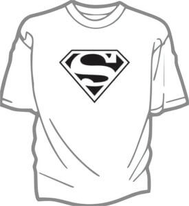 foto T-shirt Barn SUPERMAN