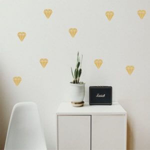 foto Wall Stickers Diamant